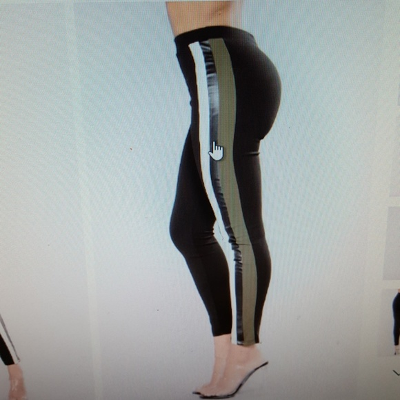 cdd69c2e72ad6 Fashion Nova Pants | Stripe Leggings | Poshmark